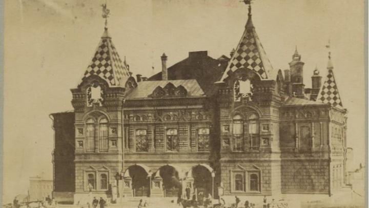 Самарский архитектор показал одну из старейших фотографий драмтеатра