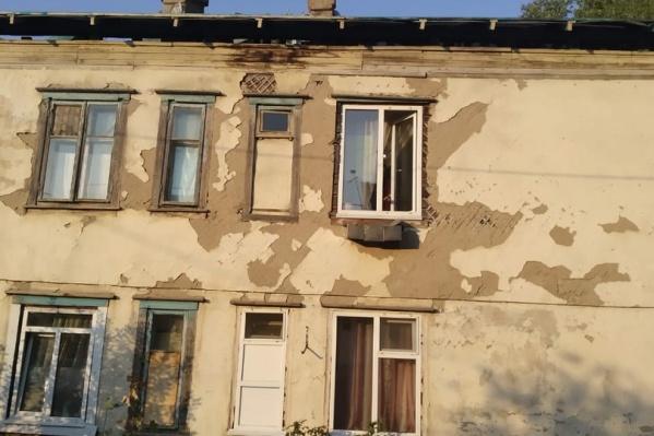 В этом доме, как призналась Оксана, «страшно жить»