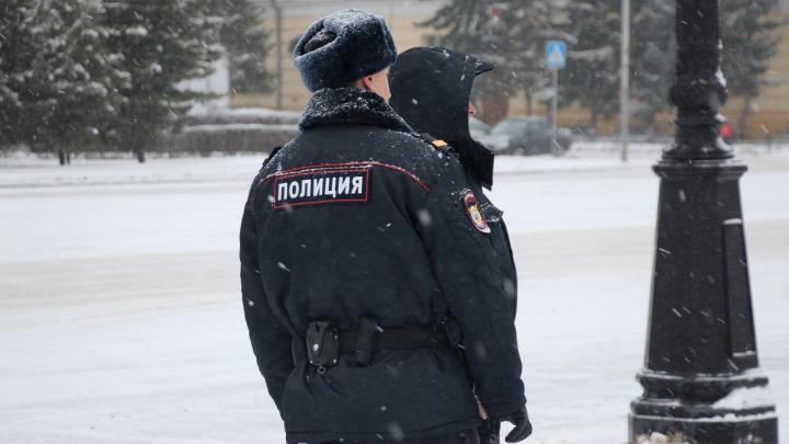 В Омской области трое парней подрались с сотрудниками ГИБДД после аварии