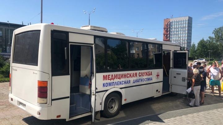 В Перми приостановили работу мобильных пунктов вакцинации от коронавируса