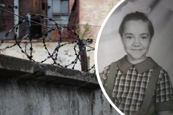 Несколько месяцев после рождения Любовь провела в СИЗО, а затем попала в приют. На снимке справа ей 8 лет