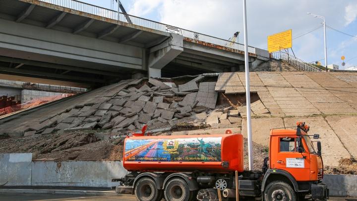 Чиновники объяснили, почему новая набережная в Уфе разрушается спустя 10 месяцев после открытия