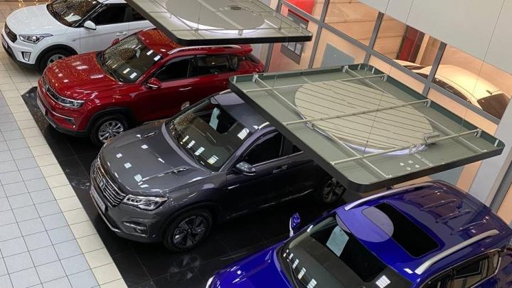 Красноярск вошел в новый год с новым брендом автомобилей