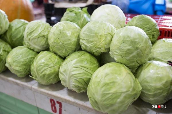 Капуста и картошка в регионе с 12 по 19 июля выросли в цене примерно на 5%