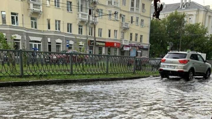 Почему Екатеринбург ушел под воду после дождя? Версия мэрии