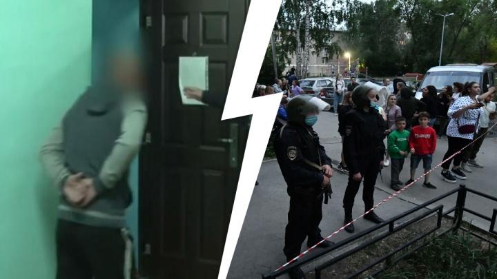 Следователи опубликовали видео допроса химмашевского стрелка