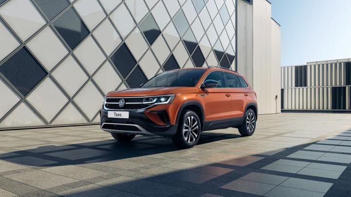 Volkswagen поделился первыми фактами о новом внедорожнике Taos