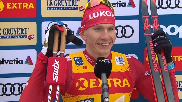 Представляющий Поморье лыжник Александр Большунов выиграл на «Тур де Ски» четыре гонки подряд