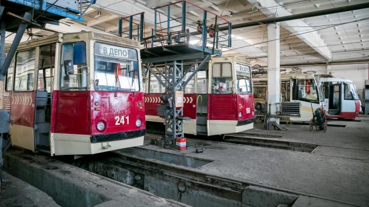 25 новых трамваев намерены закупить в Красноярске