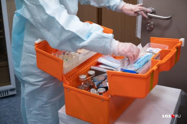 Перед проведением вакцинации проводится обязательный осмотр врача