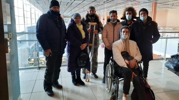 Студенту из Марокко, который стал инвалидом в Екатеринбурге, помогли вернуться домой