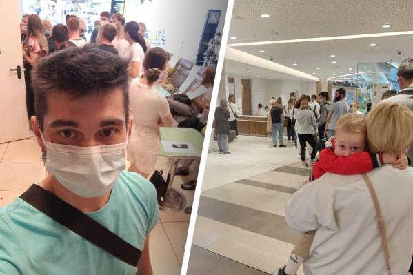 Виталий пришел в прививочный пункт за пять минут до открытия и был в очереди 89-м