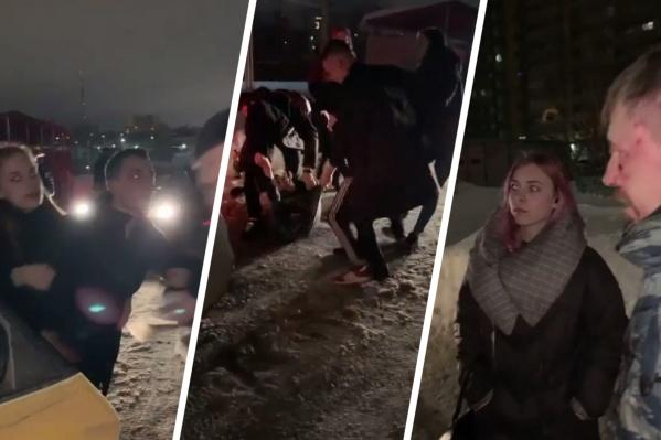 Экипаж полиции в итоге разминулся с пострадавшими, но проверка инцидента уже идет
