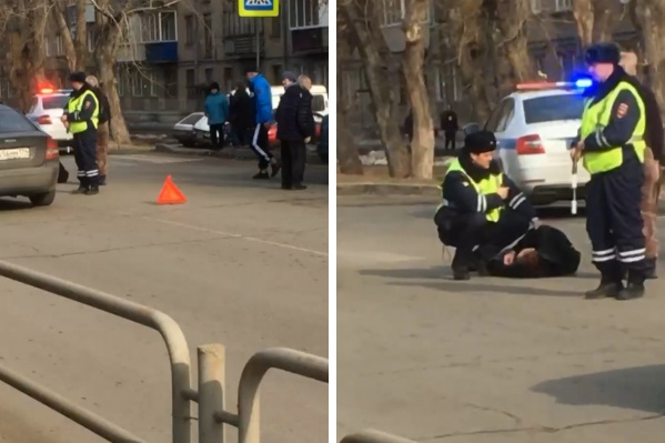Сбитый мужчина получил тяжелые травмы