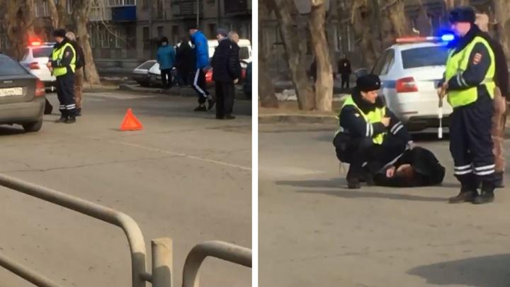 В Челябинске на пешеходном переходе сбили мужчину. После ДТП он впал в кому