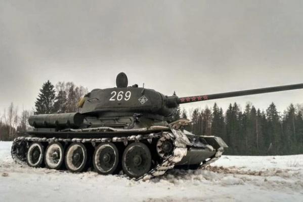 По словам владельца, модель танка является демилитаризованной