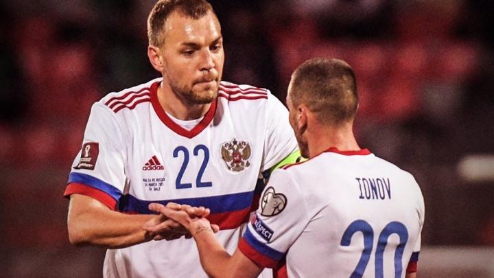 Сборная РФ по футболу одержала победу в первом отборочном турнире на чемпионат мира—2022