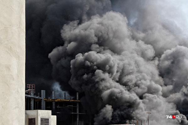 Спасатели справились с огнем всего за 10 минут