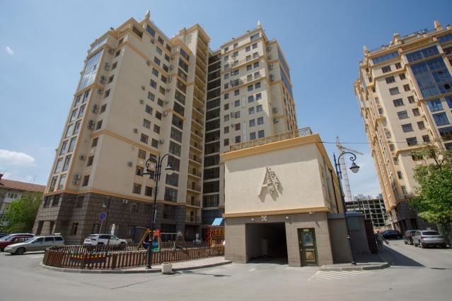 Жилой квартал «Арбат» — одна из архитектурных достопримечательностей современного Волгограда
