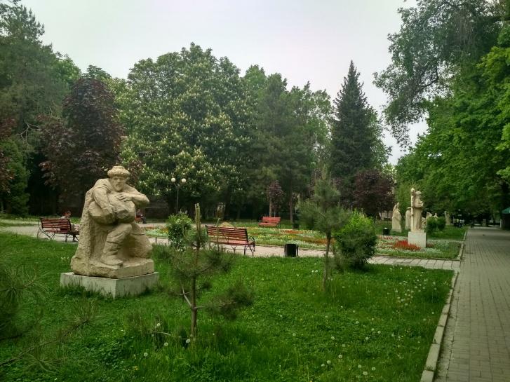 Музей скульптур под открытым небом в Бишкеке