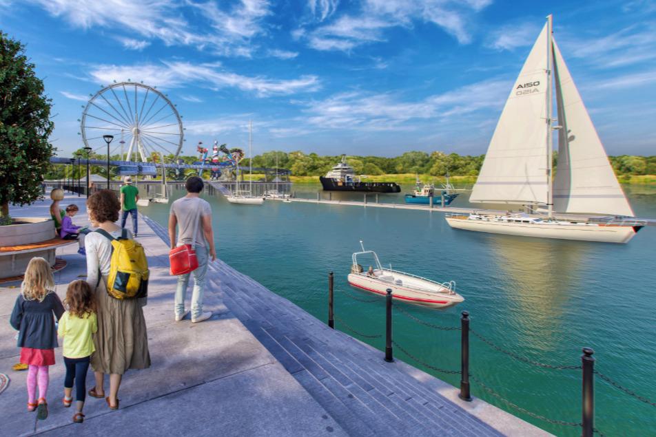 Архитекторы предлагают связать Зеленый остров и правый берег Дона