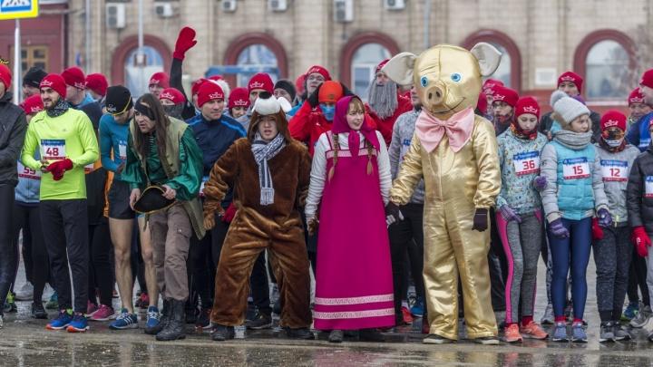 В Волгограде 7 января пройдет рождественский забег в онлайн-формате