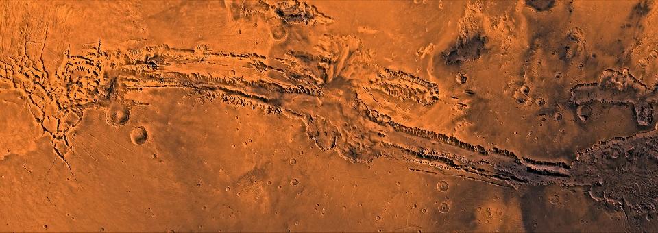 Долины Маринер на Марсе
