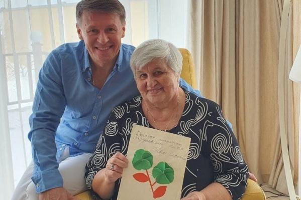 Сергей Исаев и его мама Татьяна Фёдоровна