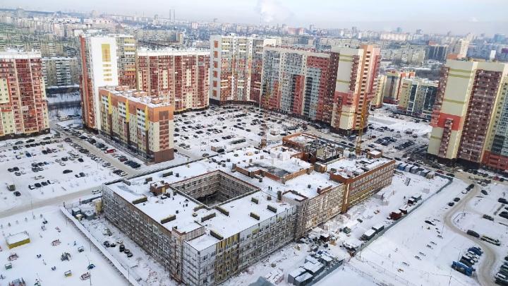 Осенью в крупном микрорайоне Челябинска откроют новую школу