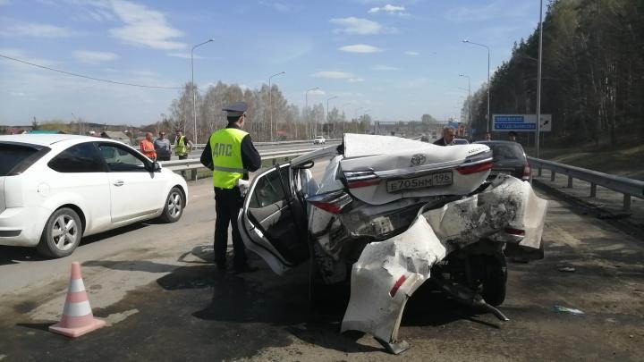 На дороге было пыльно: подробности жесткого ДТП на Челябинском тракте, в котором пострадали 3 человека