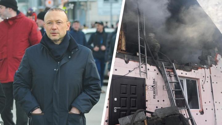 Игорь Алтушкин закроет ипотеку и кредиты спасателя, который погиб при пожаре в Асбесте