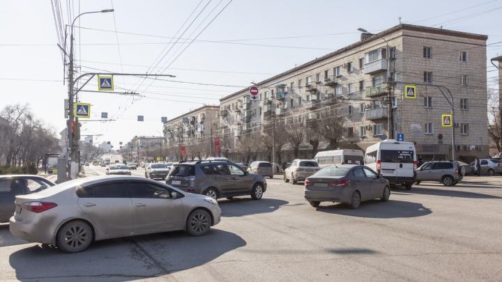 «Усугубляющийся коллапс»: волгоградец — об организации дорожного движения в центре города