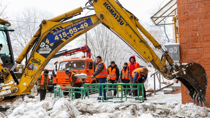 Шалабаев рассказал о планах по расчистке нижегородских дворов от снега
