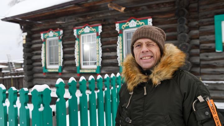 Уже потратил 50 миллионов: бизнесмен из Екатеринбурга скупил дома в глухой деревне, чтобы сдавать их в аренду