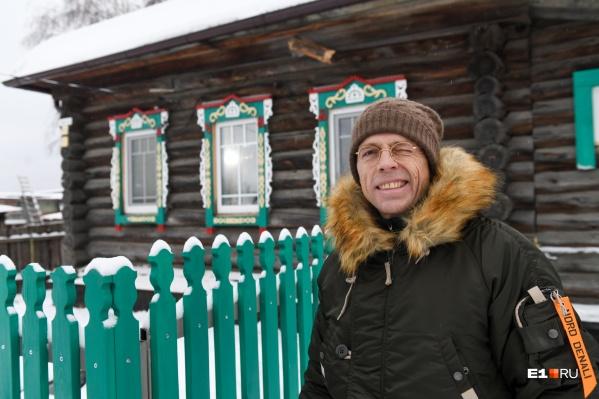 Игорь Черноголов уже вложил 50 миллионов в покупку и ремонт деревенских домов