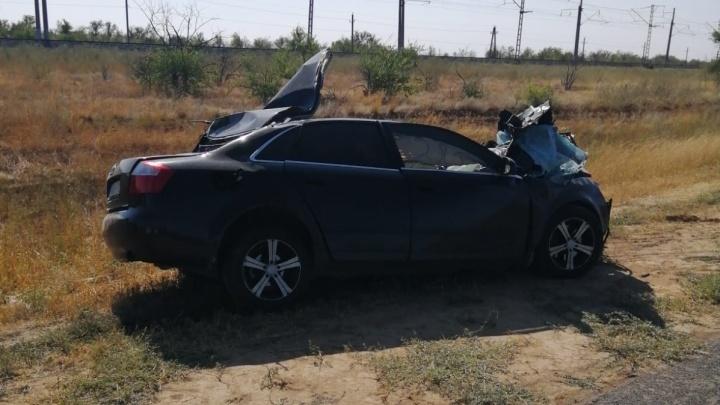 Шансов не было никаких: жуткая авария на трассе под Волгоградом