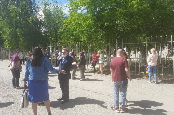 Из суда эвакуировали людей из-за сообщения о мине