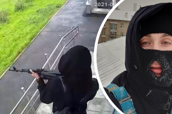 Екатеринбуржец напугал жителей Мичуринского страйкбольным ружьем, которое стреляет пластмассовыми пулями