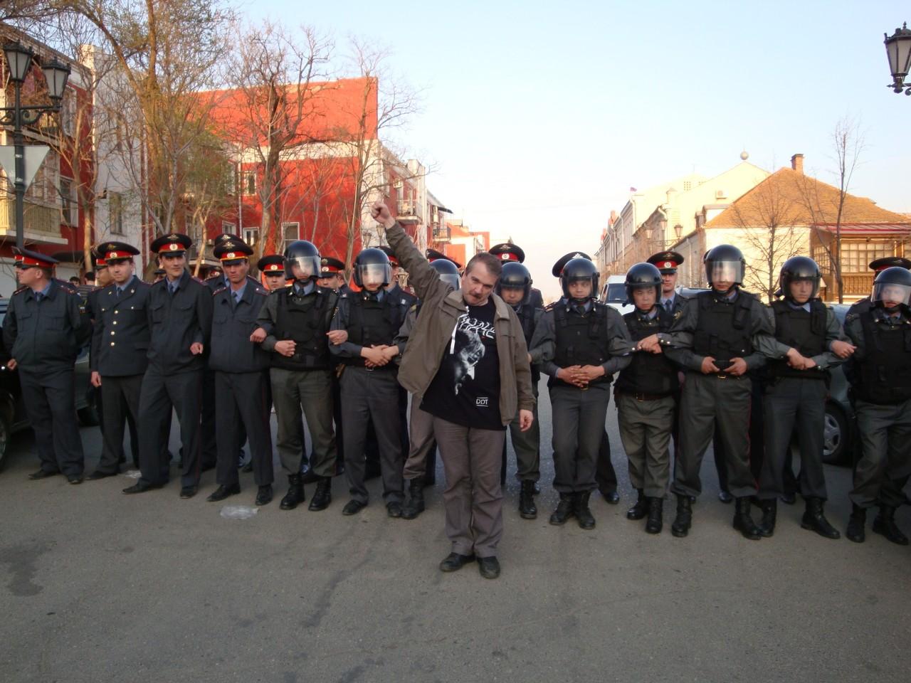 В Астрахань Юрий Черкасов прибыл по зову души