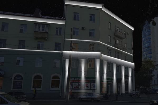 Так будет выглядеть дом по адресу: Гоголя, 80 / Пролетарская, 57