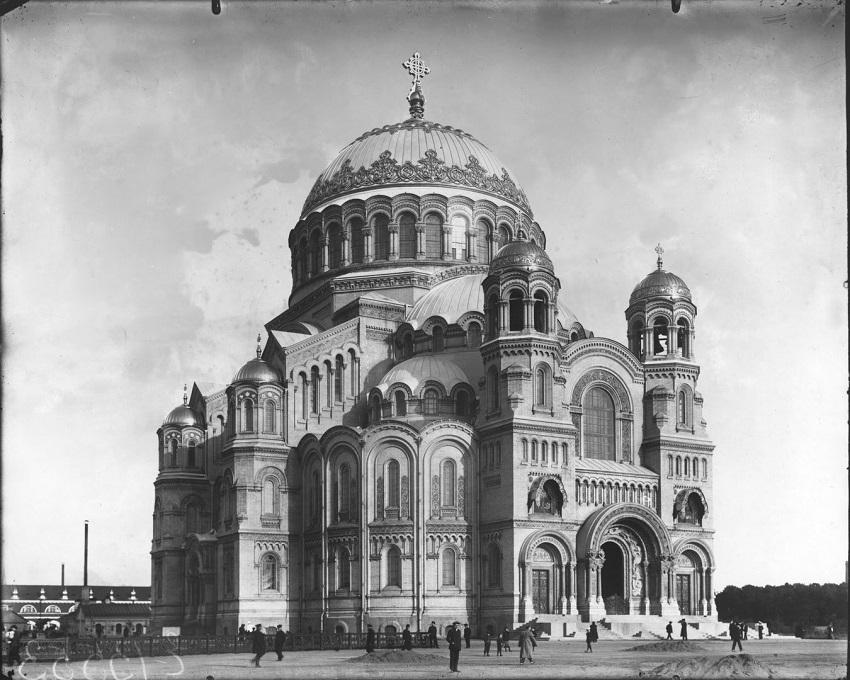 Ателье Буллы. Морской собор Николая Чудотворца, 1913<br />© ЦГАКФФД