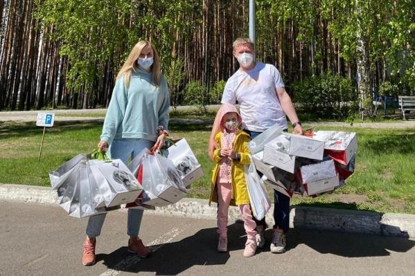 Оксана Хикматулина 10 лет занимается благотворительностью