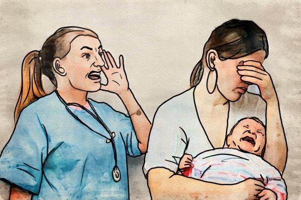 Женщина столкнулась с хамским отношением к себе прямо во время родов — ей заявили, что она разносит заразу и вообще не должна рожать из-за положительного ВИЧ-статуса
