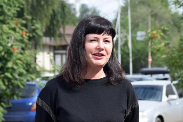 Елена Ситникова считает, что горожане должны иметь возможность отдохнуть душой