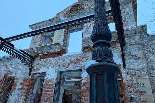 Памятник архитектуры практически разрушен