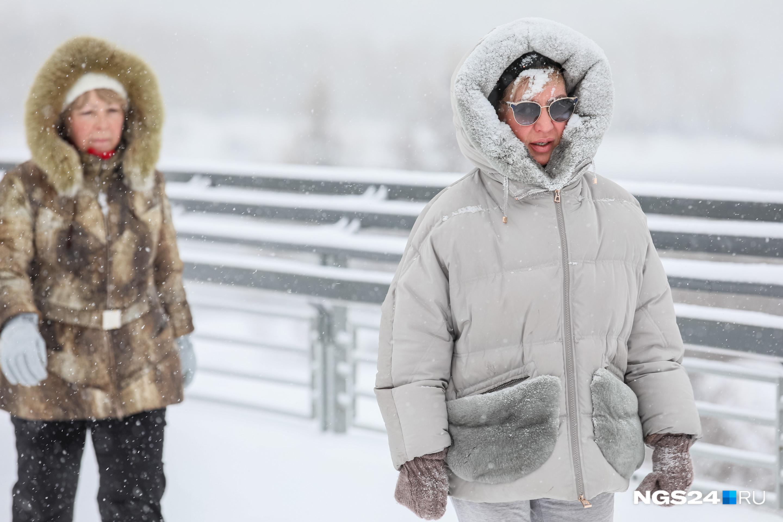 Мелирование снежной массой
