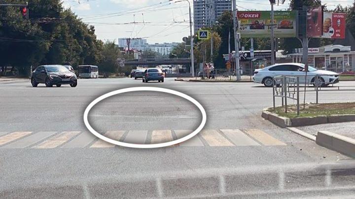 В «БашРТС» объяснили, почему просела дорога на улице 50 лет СССР в Уфе