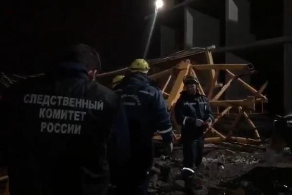 На месте работали спасатели, но без жертв не обошлось