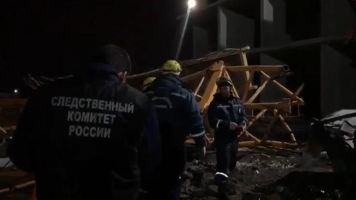 В Краснодаре в суд направили дело о падении крана на стройке, погибли два человека