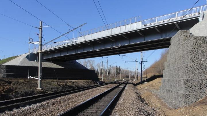 В Кузбассе открыли новый путепровод на трассе «Сибирь»